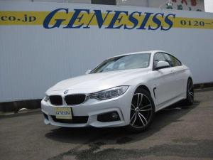 BMW 4シリーズ 420i xDriveグランクーペ Mスポーツ 4WD・ナビ・Bカメラ 19インチアルミ