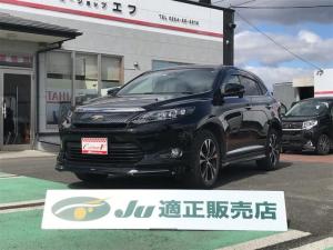 トヨタ ハリアー プレミアム スタイルモーヴ TV ナビ 4WD バックカメラ