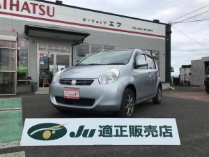 トヨタ パッソ G ナビ CVT AW ワンオーナー スマートキー オーディオ付 AC