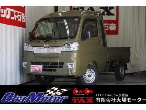 ダイハツ ハイゼットトラック ジャンボSAIIIt AC・PS・PW・キーレス・AT・ABS・LEDライト・フォグランプ・純正CDデッキ・LEDライト・フォグランプ・スマートアシストIIIt・オートライト・切替式4WD