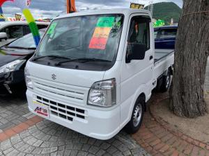 スズキ キャリイトラック KCエアコン・パワステ 4WD エアコン パワステ ダブルエアバッグ ABS ラジオ
