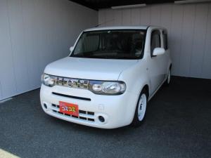 日産 キューブ 15X FOUR ワンオーナー 4WD フルセグ・ナビ バックカメラ プッシュスタート エンジンスターター AUX Bluetooth