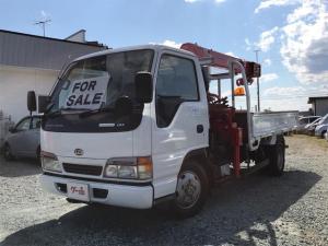日産ディーゼル コンドル トラック 4WD 4段クレーン AC MT 3名乗 2.0t