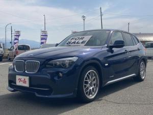 BMW X1 xDrive 25i 4WD スポーツレザーパワーシート BBS鍛造ホイール シュニッツァーフルエアロ 車高調スポーツサス ガラスコーティング コンピューターチューニング GPSレーダー探知機