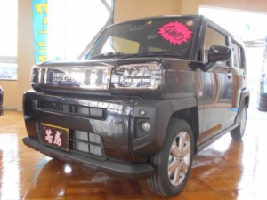 ダイハツ タフト G 4WD スマートアシスト メッキパック 地デジナビTV Bモニター 15アルミ Pスタート