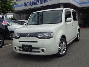 日産 キューブ 15X FOUR Mセレクション 4WD ナビ ドラレコ