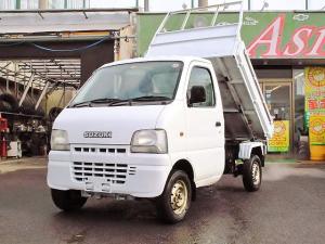 スズキ キャリイトラック 安く買って儲けてくださいダンプ 4WD エアコン パワステ