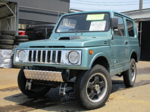 スズキ ジムニー 4WD AC オートマ 社外パーツ多数5ケタメータ為走行不明