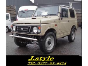 スズキ ジムニー ベージュツートン絶賛人気カラー 4WD AC PSJA12W