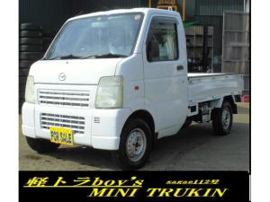 マツダ スクラムトラック 4WD AC PS F5