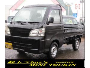 ダイハツ ハイゼットトラック  4WD AC PS オートマ 色替え黒