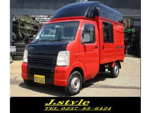 スズキ キャリイトラック  移動販売車4WDエアコン