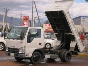 いすゞ エルフトラック 強化フルフラットローダンプ 2WD キーレス 5MT