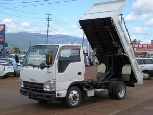 いすゞ エルフトラック 深ダンプ 4WD 積載2t 5MT キーレス エアコン