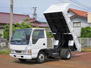 いすゞ エルフトラック フラットローダンプ 5MT 2WD エアコン パワステ