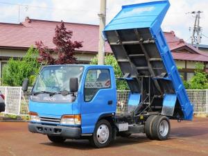 いすゞ エルフトラック フラットローダンプ 2WD ETC エアコンパワーウィンドウ