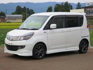 スズキ ソリオ ブラック&ホワイトII 2WD ナビ 両電動スライド ETC シートヒーター プッシュスタート