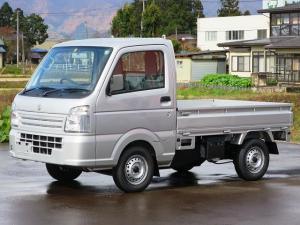 スズキ キャリイトラック KCエアコン・パワステ フロア5MT 4WD ABS エアコンパワステ 届出済未使用車
