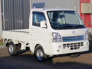 マツダ スクラムトラック KX 4WD 5MT キーレス パワーウィンドウ 衝突安全 CD 荷台ライト