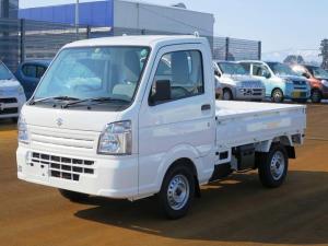スズキ キャリイトラック KCエアコン・パワステ 4WD 5MT エアコンパワステ エアバック2 届出済未使用車