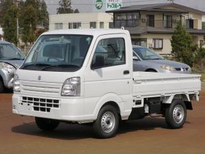 スズキ キャリイトラック KCエアコン・パワステ フロア5MT 4WD ABS エアバック2 届出済未使用車