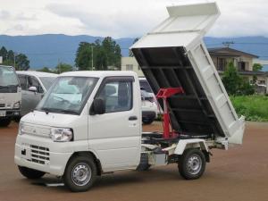 三菱 ミニキャブトラック 楽床ダンプ フロア5MT パワステ エアコン エアバック