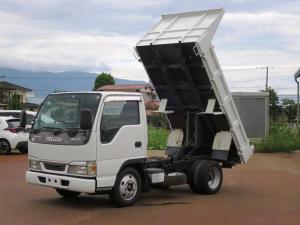 いすゞ エルフトラック フルフラットロー ダンプ 2WD エアコンパワステ ABS