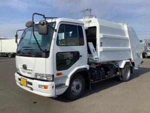 UDトラックス コンドル  新明和プレス式パッカー 7.4立米 仕上げ塗装済み車 ターボ