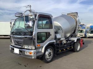UDトラックス コンドル  新明和K-281ミキサー5.6立米 最大混合容量2.8立米 ターボ