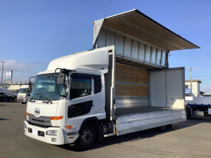 UDトラックス コンドル  日本フルハーフ 極東格納ゲート 1000kg ラッシングレール 2段 台枠フック 10個 セイコラック 2個