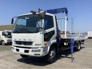 三菱ふそう ファイター  タダノ4段(2.93t)ZE304HR セイコラック2個 ターボ 6速マニュアル