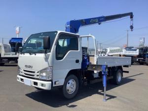 いすゞ エルフトラック  タダノ3段 2.63t ZE236HR ロープ穴8個 ボディ仕上げ塗装済み