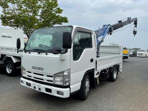 いすゞ エルフトラック  タダノ4段 2.22t ZR224 新明和垂直ゲート 800kg 切替式4WD 埋め込みフック6個