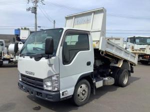 いすゞ エルフトラック  新明和 手動シート プロテクターアングル補強 最大積載量2000kg