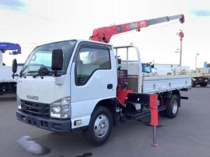 いすゞ エルフトラック  ユニック3段 2.63t URU263NRKK セイコラック2個 ロープ穴6個 6速マニュアル ターボ