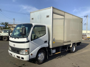 トヨタ ダイナトラック  アルミバン ロング ボディ4.5m 高さ2.0m サイド扉付 5速マニュアル