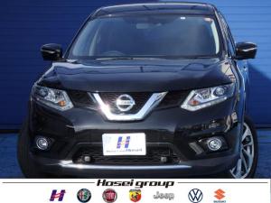 日産 エクストレイル 20Xtt エマージェンシーブレーキパッケージ 4WD ワンオーナー車 純正SDナビ LED 衝突軽減ブレーキ 防水シート 純正18AW ETC