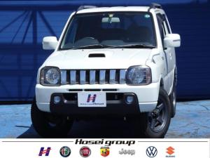 スズキ ジムニー ワイルドウインド 4WD 社外メモリーナビ レザーシート 純正16AW ヒーテッドドアミラー ETC