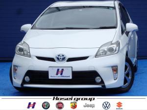 トヨタ プリウス Sマイコーデ 純正HDDナビ HID レザー調シート 横滑り防止 純正15AW ETC