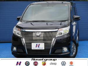 トヨタ エスクァイア Gi ワンオーナー車 社外SDナビ LED 両側パワースライドドア レザーシート フリップダウンモニター ETC
