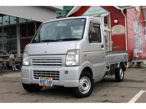 スズキ キャリイトラック KCエアコン・パワステ 4WD ハイ・ロー切替式4WD タイミングチェーン式エンジン 5速マニュアル 走行22,063km