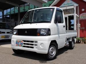 三菱 ミニキャブトラック Vタイプ 4WD パワステ 切替式4WD 新品夏タイヤ アオリゴムガード ゲートチェーン