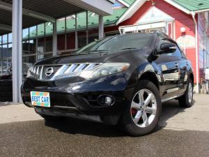 日産 ムラーノ 250XV FOUR 4WD 黒革シート パワーシート シートヒーター 純正ナビ バックカメラ サンルーフ クルーズコントロール ETC キーフリー カーテンエアバッグ