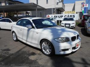 BMW 1シリーズ 120i Mスポーツパッケージ ハーフレザーシート ETC キーレス 純正オーディオ 純正AW