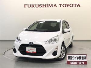トヨタ アクア S メモリーナビ ワンセグ キーレス アイドリングストップ