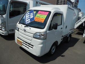 ダイハツ ハイゼットトラック  冷蔵冷凍車4WDデンソー製冷凍機-7℃設定両側荷箱スライドドア