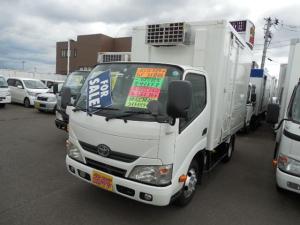 トヨタ ダイナトラック  2t低温冷凍車4.0ディーゼルターボ東プレ製冷凍機-30℃設定左サイドドア