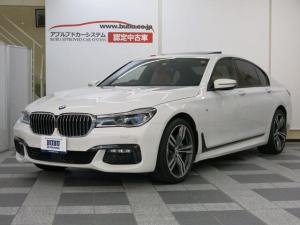 BMW 7シリーズ 740i Mスポーツ 1オナ コニャック革 GSR M保証