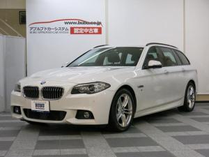 BMW 5シリーズ 523dツーリング Mスポーツ Mスポーツ専用ブラックハーフアルカンターラスポーツS 純正HDDナビ Bカメラ 地デジ ACC ウッドINTトリム キセノンHL Mスポーツ専用18AW ミラー内蔵型ETC ディーゼルターボEG