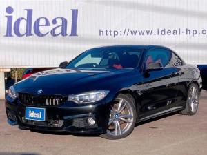 BMW 4シリーズ 435iカブリオレ Mスポーツ 赤革シート・電動オープン・Mスポーツ・地デジTV・前後カメラ付・19インチAW